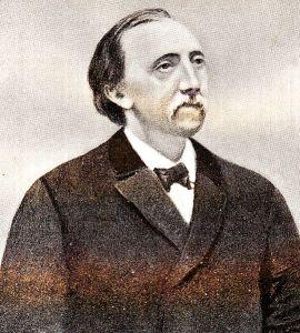 Hendricus van de Sande Bakhuyzen menggantikan Kaiser sebagai direktur Observatorium Leiden pada tahun 1872. Ia pensiun pada tahun 1908 dan kemudian menyumbangkan koleksi buku-bukunya kepada Observatorium Bosscha. Sumber: Wikipedia.