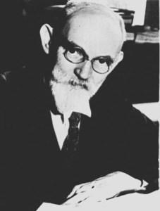 Willem de Sitter, direktur Observatorium Leiden 1919--1934. Sumber: Wikipedia.