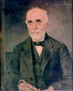 Lukisan Hendrik Antoon Lorentz pada tahun 1916, dilukis oleh Menso Kamerlingh Onnes, adik kandung fisikawan (dan pemenang Hadiah Nobel) Heike Kamerlingh Onnes. Sumber: Institut Lorentz, Leiden.