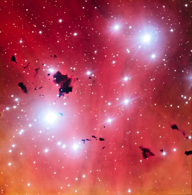 Palung kelahiran bintang. Kredit : ESO
