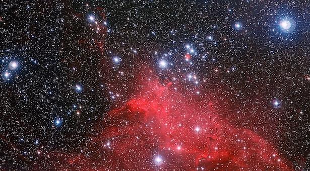 gugus terbuka NGC 3572. Kredit: ESO