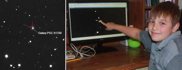 Nathan Gray, penemu supernova termuda dari Canada. Sumber: Universe Today