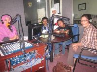 SAC on air di radio Shams FM