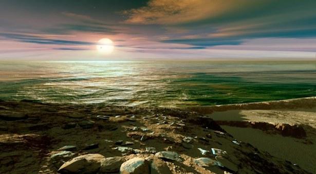 Ilustrasi planet serupa Bumi. Kredit: Nature