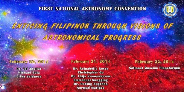 Poster Konvensi Nasional Astronomi 2014. Kredit: Panitia Konvensi