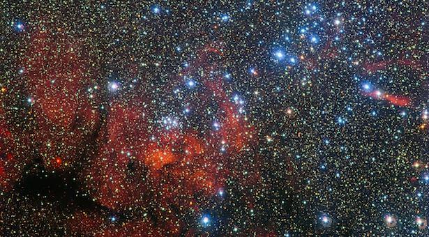 Gugus bintang NGC 3590. Kredit: ESO/G. Beccari