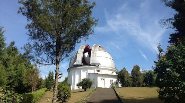Observatorium Bosscha. Kredit: langitselatan