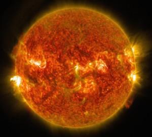 Matahari. Kredit: NASA