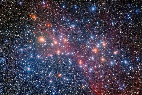 Gugus Bintang Kolam Permintaan. Kredit: ESO/G. Beccari