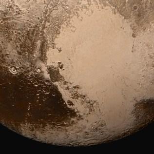 Belahan selatan Pluto. Kredit: NASA/Johns Hopkins University Applied Physics Laboratory/Southwest Research Institute