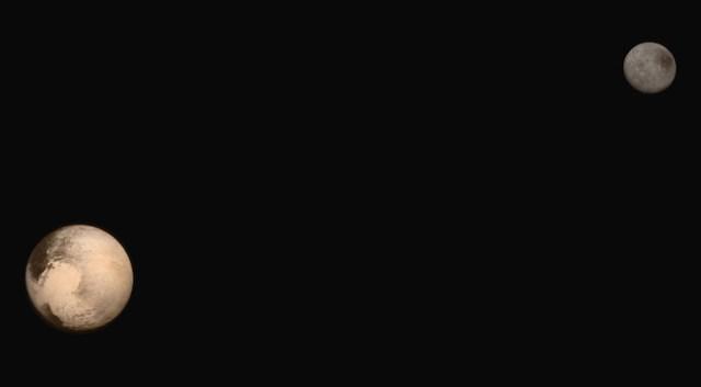 Pluto & Charon. Kredit: JHUAPL / SwRI