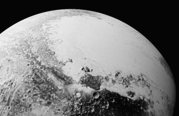 Foto terbaru Pluto yang dikirim New Horizons. Kredit: NASA/Johns Hopkins University Applied Physics Laboratory/Southwest Research Institute