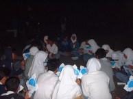 Himastron saat diminta mengadakan acara astronomi bagi siswa-siswa MAN 2 Bogor, September 2002. Kredit: Himastron.