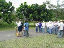 Himastron saat diminta mengadakan acara astronomi bagi siswa-siswa MAN 2 Bogor, Oktober 2003. Kredit: Himastron.