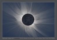 Foto Gerhana Matahari total yang menentukan penggunaan instrumentasi yang juga bermacam-macam. Fotografer: Miloslav Druckmuller