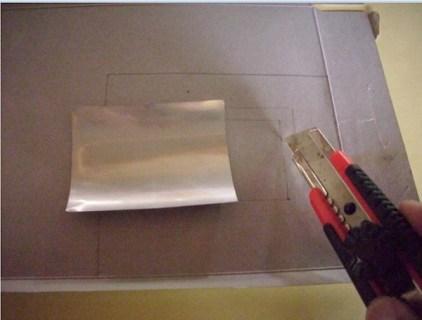 Langkah-langkah mendapatkan karton beraluminium foil. Kredit: Aldino Adry Baskoro