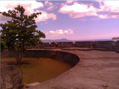 Lokasi Peluncuran di Lapangan Merdeka, Saparua. Kredit: Aldino A. Baskoro
