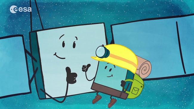 Selamat jalan Rosetta dan Philae. Kredit: ESA