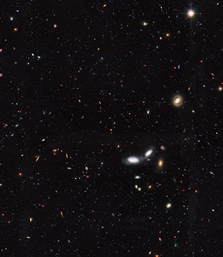 Dua Triliun Galaksi di Alam Semesta