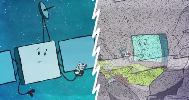 Philae, dimanakah kamu mendarat? Kredit: ESA