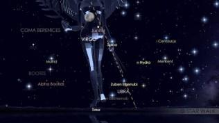 Pasangan Bulan dan Jupiter tanggal 7 Mei 2017 pukul 18:30 waktu lokal. Kredit: Star Walk