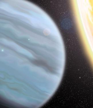 """Planet """"Styrofoam"""", Si Jupiter Panas di Bintang KELT-11"""