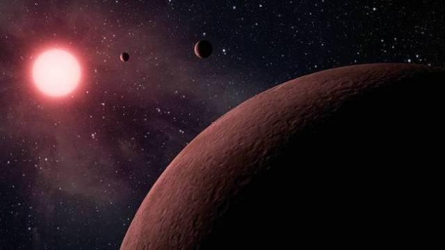 Ilustrasi exoplanet yang ditemukan Wahana Kepler. Katalog Kepler yang dirilis memuat 49 planet seukuran Bumi. Kredit: NASA/JPL-Caltech