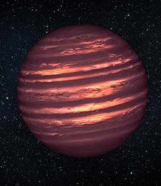 Bintang atau Planet? Bukan! ini Bintang Katai Coklat