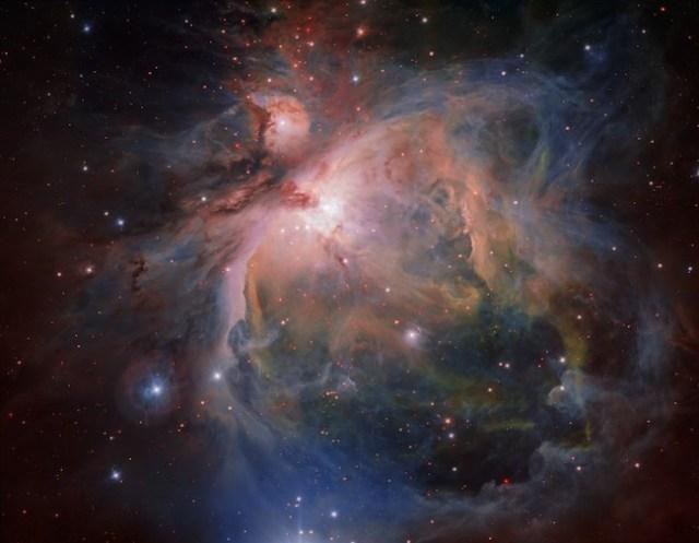 Nebula Orion. Kredit: ESO/G. Beccari