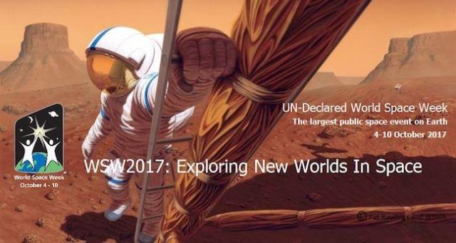 Pekan Antariksa Dunia 2017. Kredit: WSW