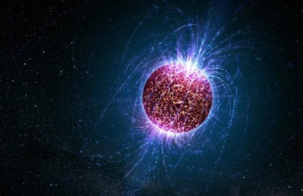 Ilustrasi bintang neutron. Kredit: NASA