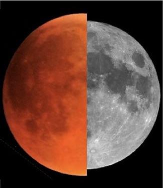 Gerhana Bulan Total 31 Januari 2018: Bulan Super Darah Biru
