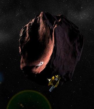 Eksplorasi Sabuk Kuiper Bersama New Horizons