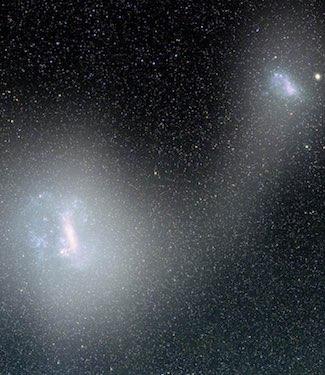 Menelusuri Evolusi Duo Galaksi Katai Awan Magellan