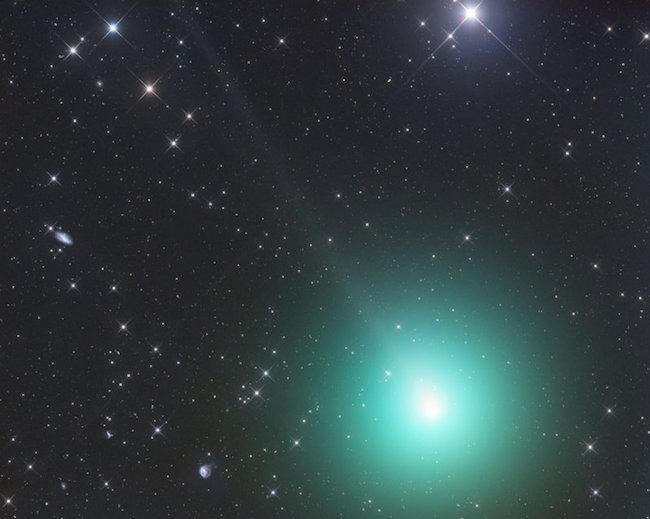 Foto Komet 46P/Wirtanen yang dipotret 26 November 2018 oleh Gerald Rhemann dari Namibia. Kredit: Gerald Rhemann