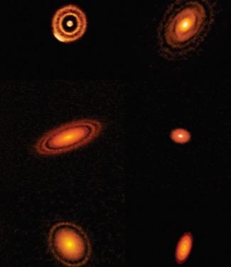 Struktur Piringan Protoplanet Penanda Kelahiran Planet