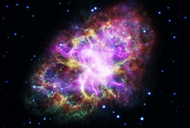 Supernova pada jarak 150 tahun cahaya diduga menghancurkan kehidupan di Bumi. Kedit: NASA