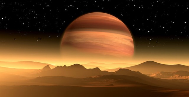 Ilustrasi sistem ekstrasurya planet. Credit: CanStock Photo