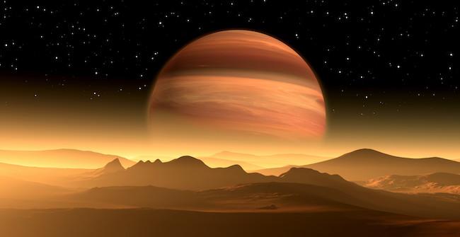 Ilustrasi sistem extrasolar planet. Kredit: CanStock Photo
