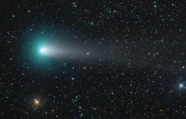 Komet 21P / Giacobini-Zinner. Kredit: Michael Jaeger