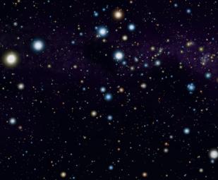 Constellation Musca a.k.a Terbang ke selatan rasi bintang Crux lokasi pasangan pulsar dan kurcaci putih. Kredit: Roberto Mura / Wikipedia