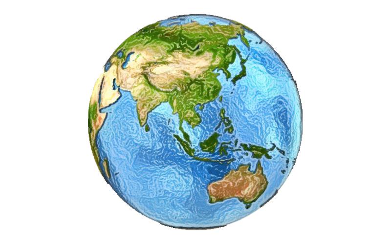 Bumi dalam 3D. Kredit: Tomas Griger/Canva