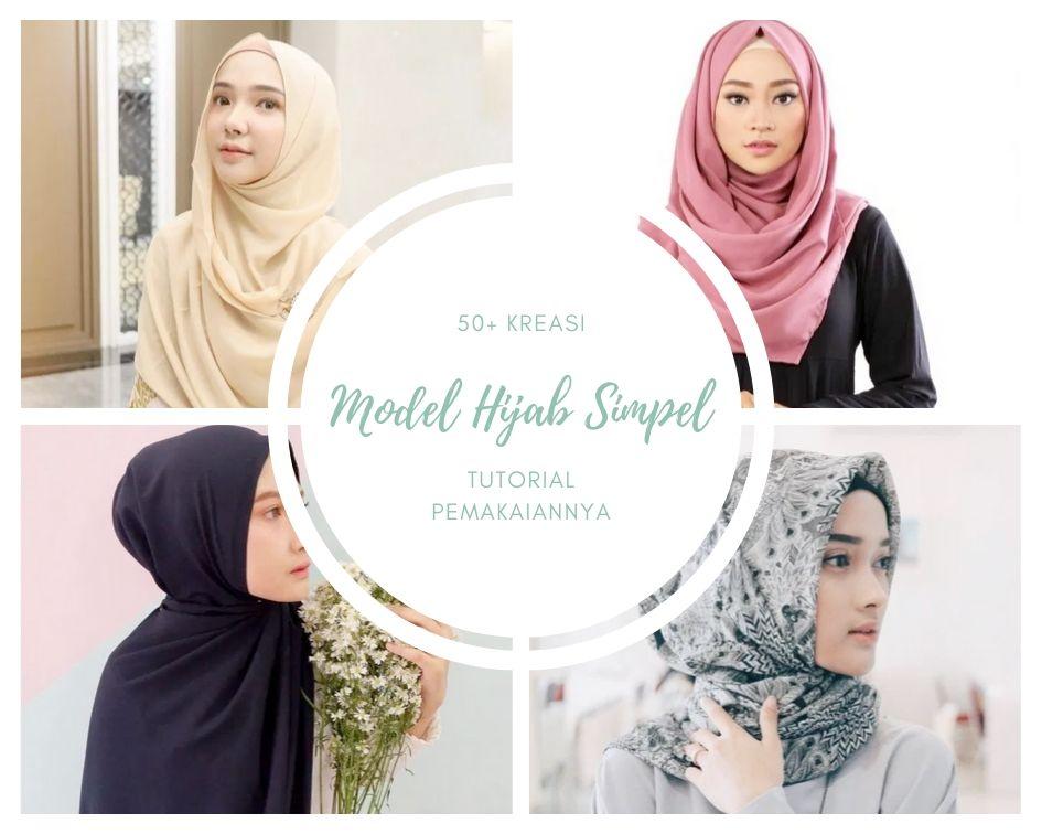 Kreasi Model Hijab Simpel