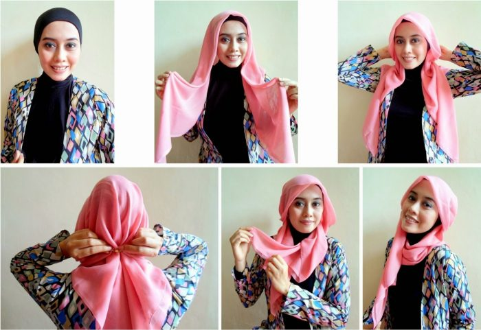 model hijab simpel