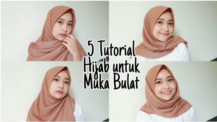 video tutorial hijab tren 2019 jilbab segiempat untuk
