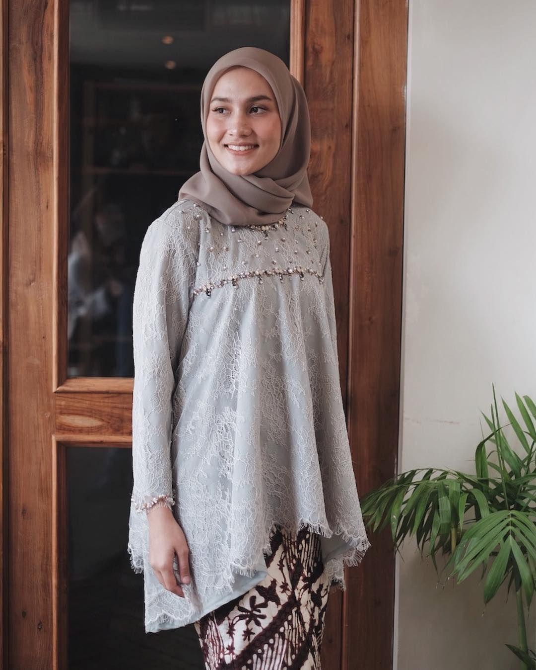baju kondangan simple hijab yang sederhana