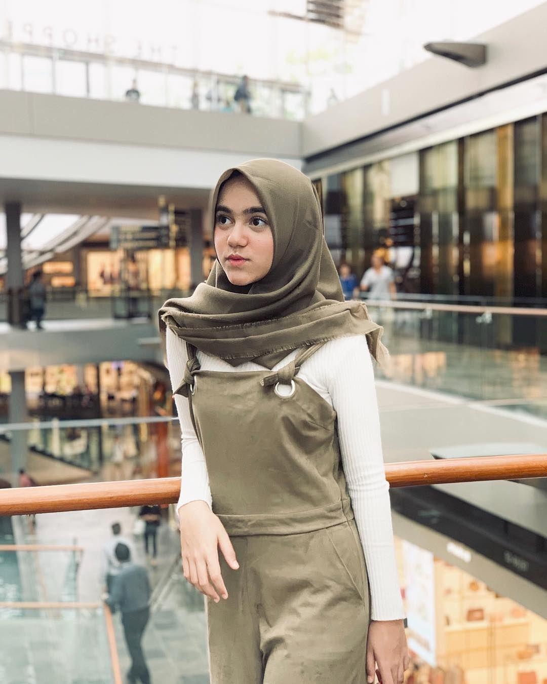 baju setelan celana hijab dengan setelan army