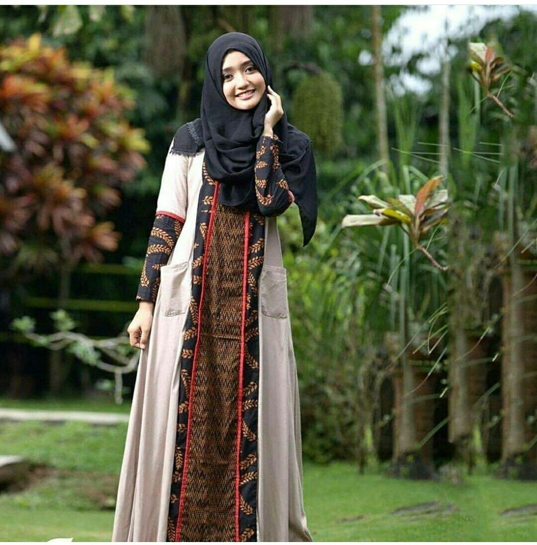 Gaun sogan batik