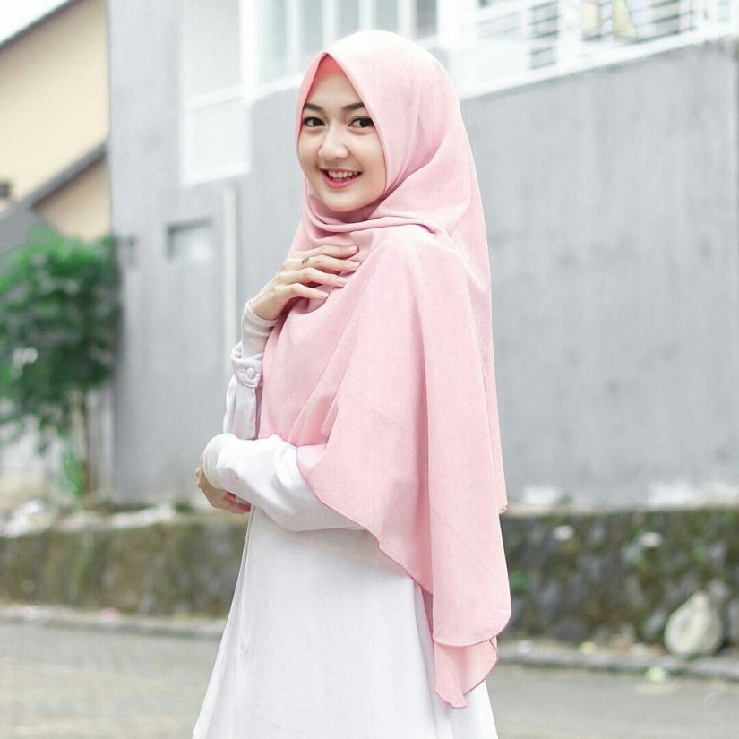 Hijab syar'i tutorial yang cantik