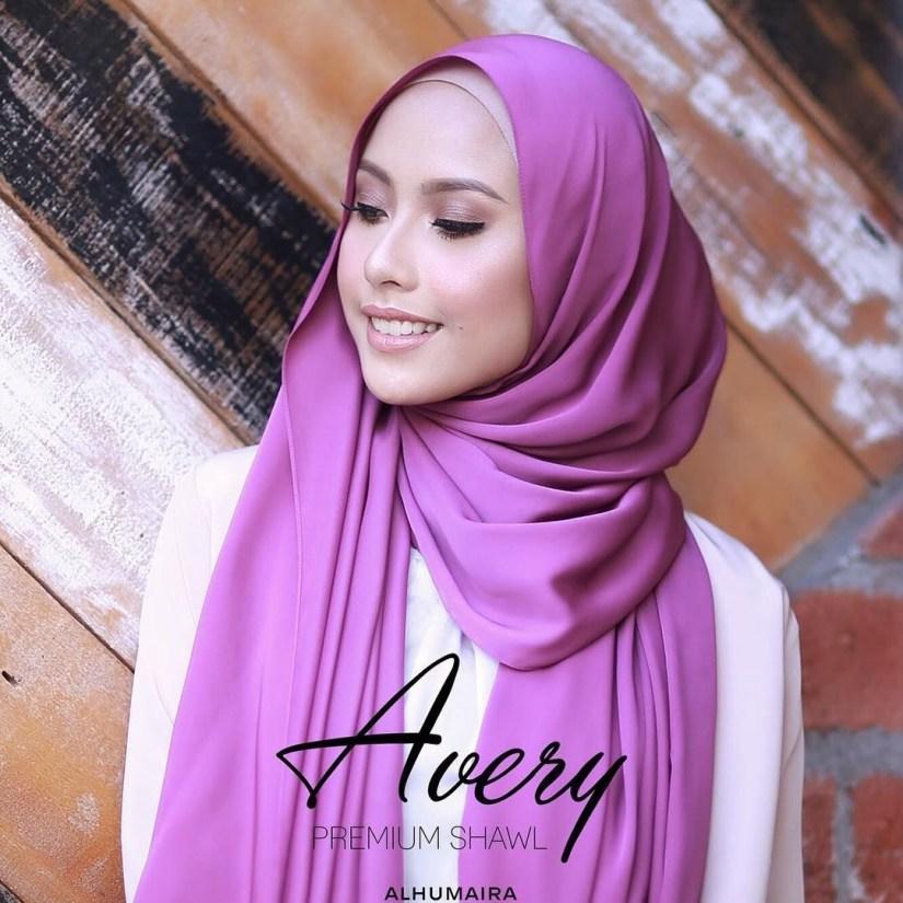 tutorial hijab pashmina satin untuk sehari sehari